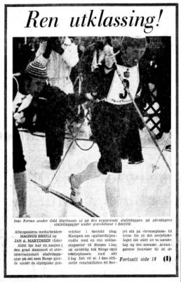 Faksimile Aftenposten 4.2.1975