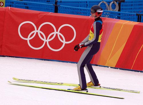 Felix Gottwald under OL i Torino 2006. (Foto: Bjarte Hetland)