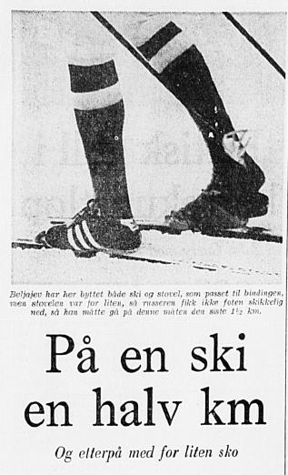 Faksimilie Stavanger Aftenblad 12.2.1976