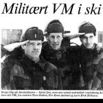 Norske patruljeførere med suksess i militært VM