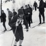 Rutt Rehemaa på vei til sitt andre individuelle gull i junior-EM.