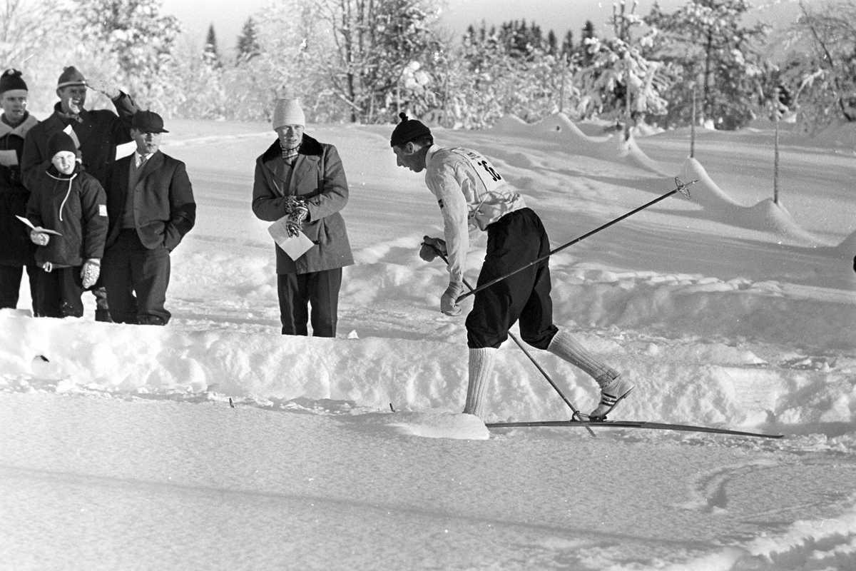 Harald Grønningen i fint driv i flotte, vinterlige omgivelser.
