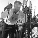 Harald Bjerke fotografert under studietiden i USA.