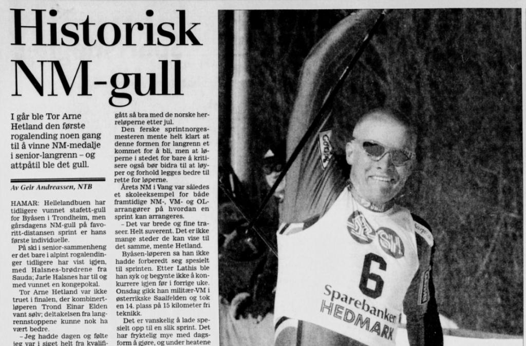 Faksimile Stavanger Aftenblad 25.3.2000