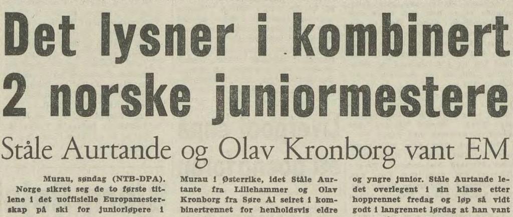 Faksimile Arbeiderbladet 6.2.1967