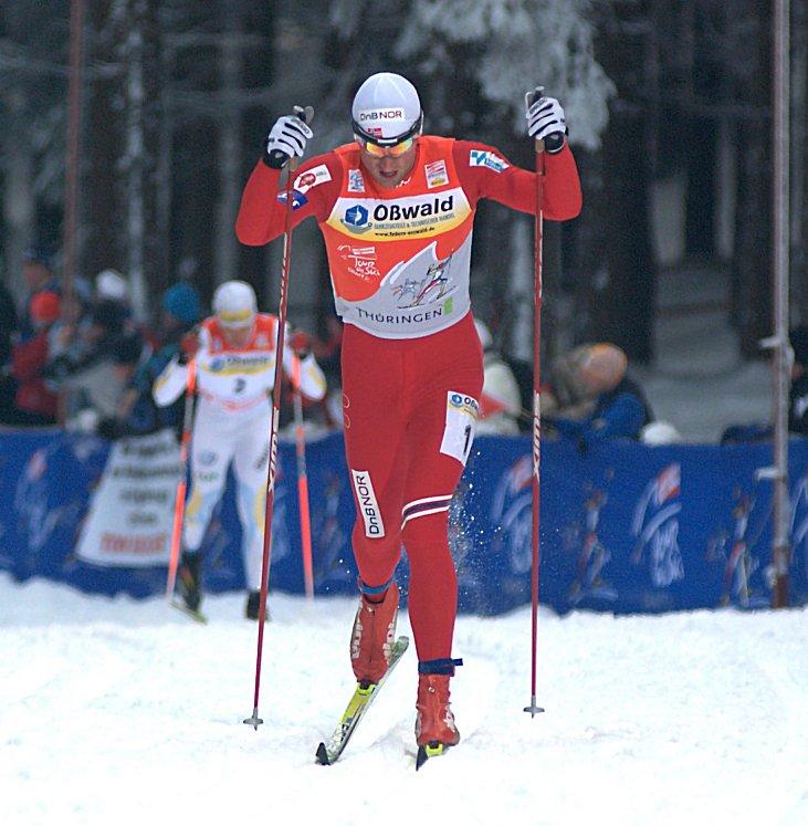 Bilde av Petter Northug under Tour de Ski 2010 i Oberhof.