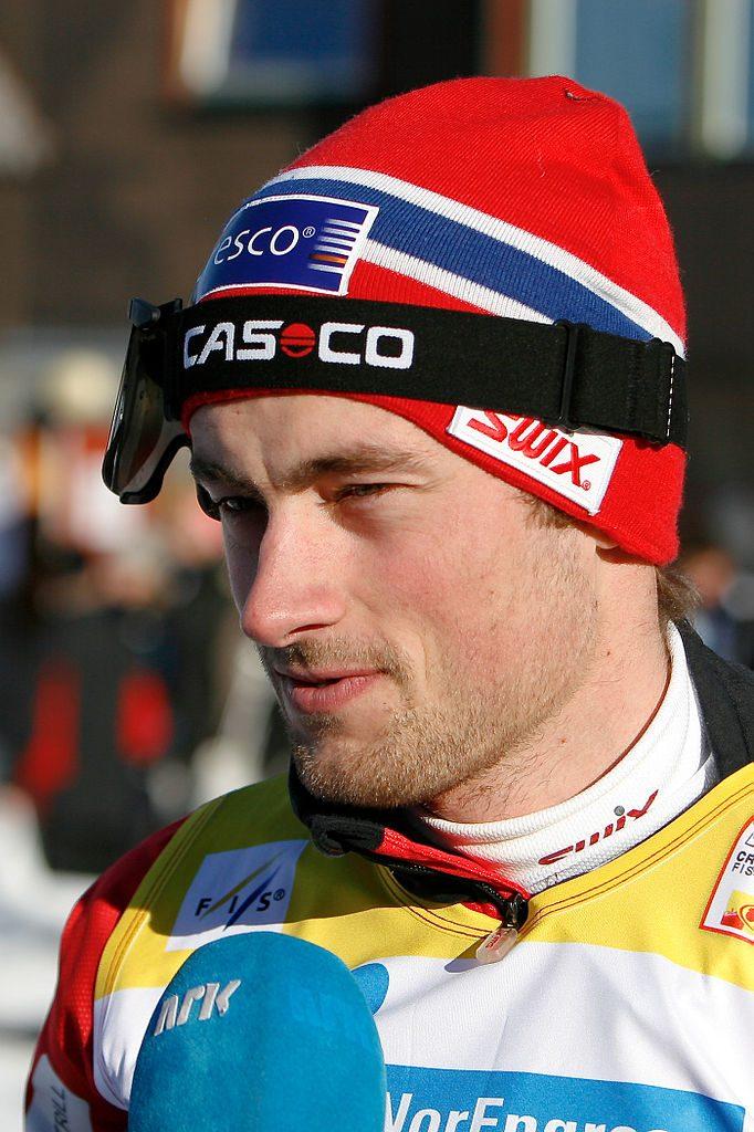 Bilde av Petter Northug under verdenscupen i Trondheim i 2009.