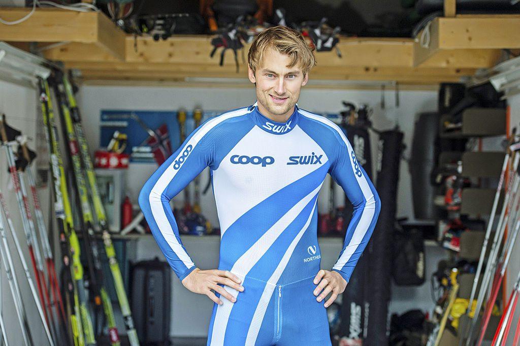 Bilde av Petter Northug i Coop-drakt.