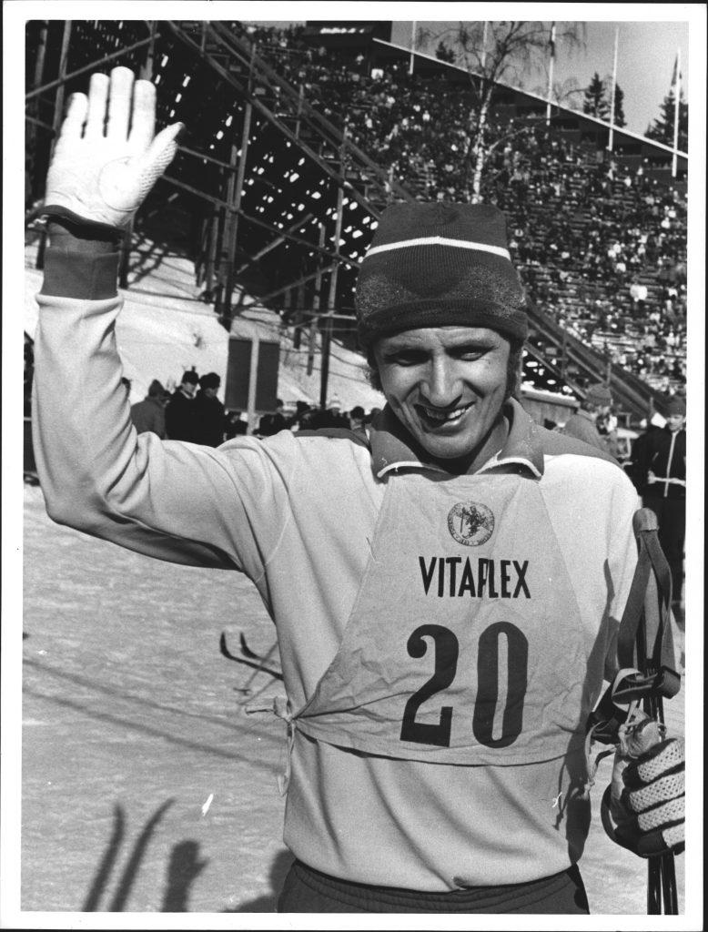 Bilde av den finske kombinertløperen Rauno Miettinen.