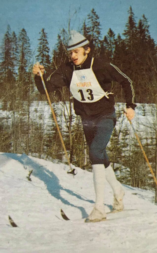 Bilde av langrennsløperen Erik Røsbak.