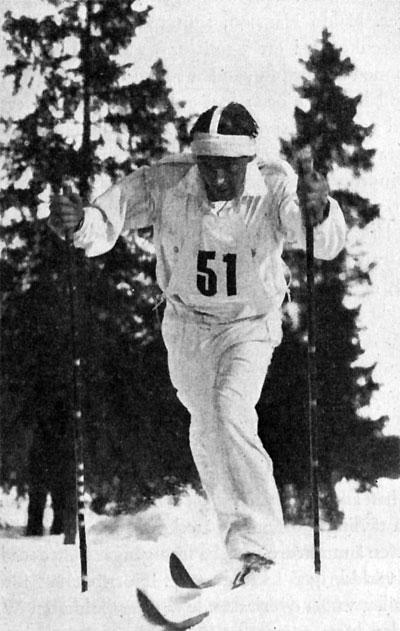 Bilde av langrennsløperen Arthur Häggblad.