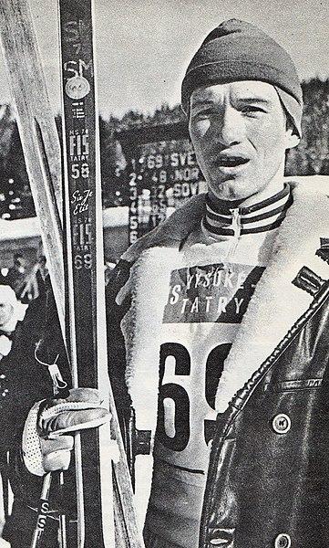 Bilde av langrennsløperen Lars-Göran Åslund