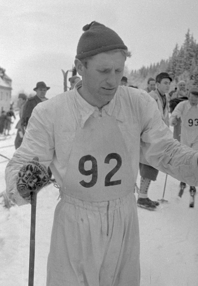Bilde av langrennsløperen Martin Stokken.