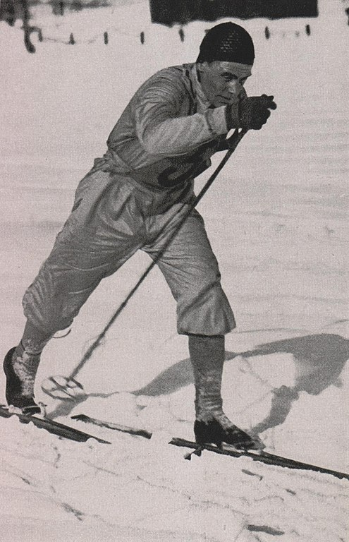 Bilde av langrenns- og kombinertløperen Oddbjørn Hagen.